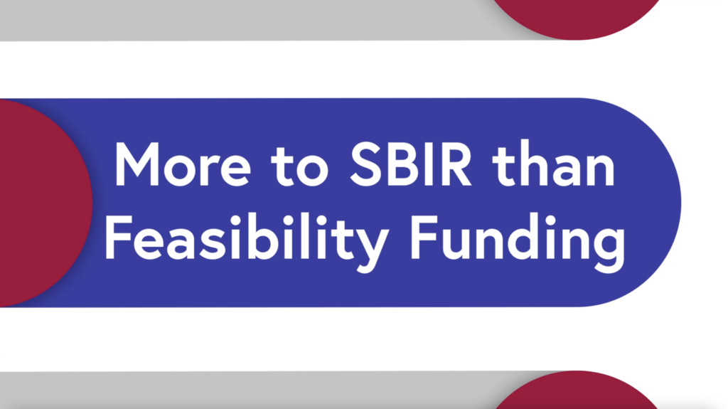 More to SBIR feature image